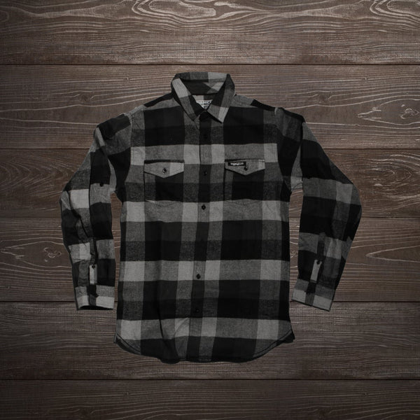 MotoCrew Flannel (Black/Grey)
