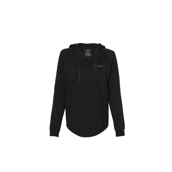 Foundations Hoodie (Ladies Black)