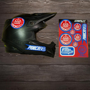 NEW PanicREV Helmet Stickers