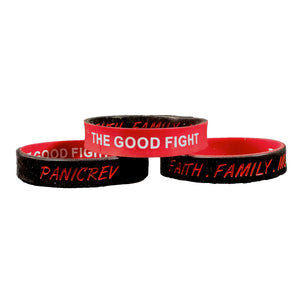 The Good Fight - Silicone Wristband