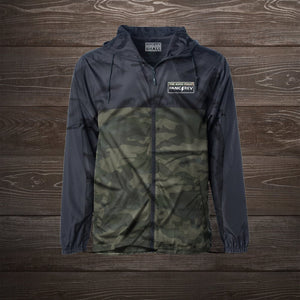 Everyday Windbreaker (Black/Camo)