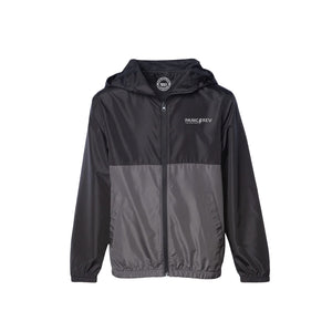 Youth Everyday Windbreaker 3.0 (Black/Grey)