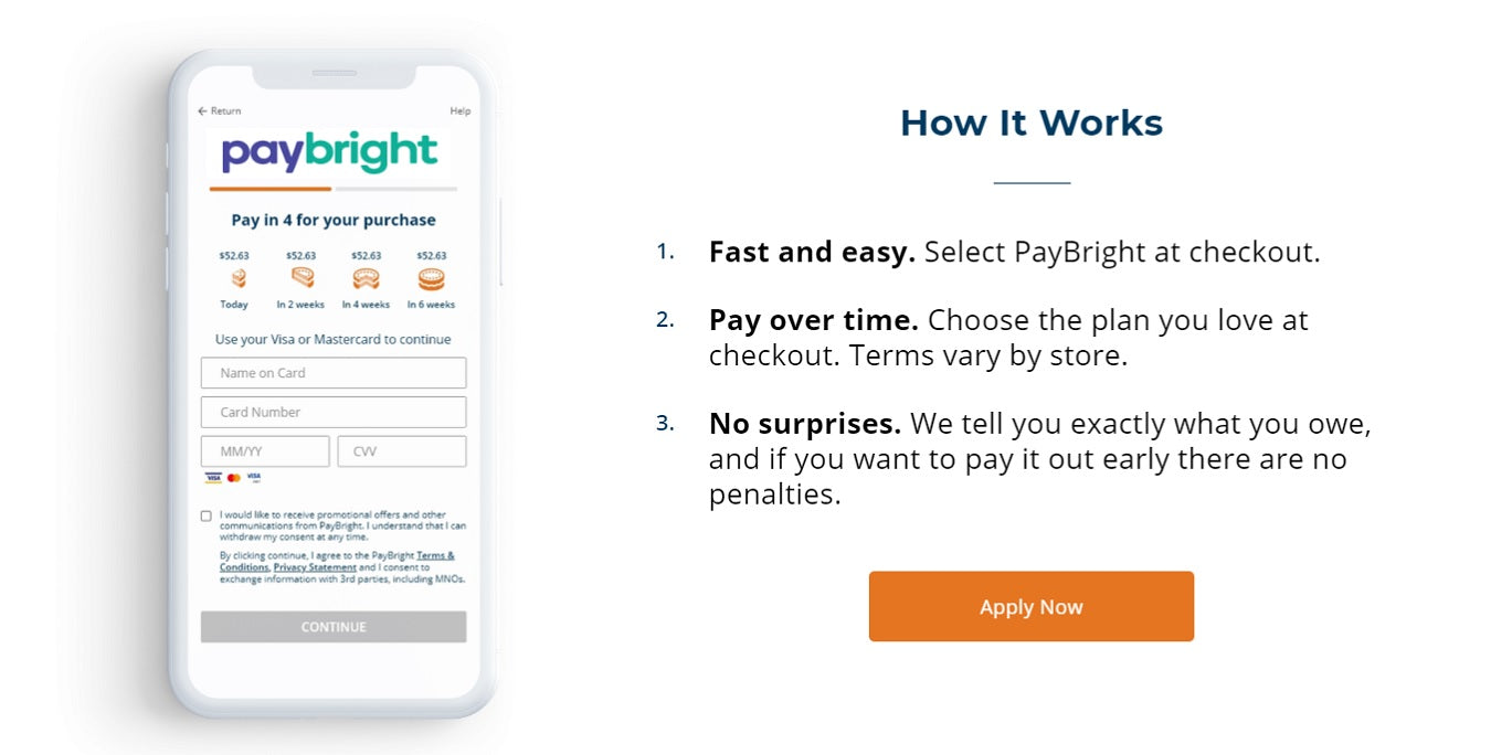easy monthly payments Pay Bright