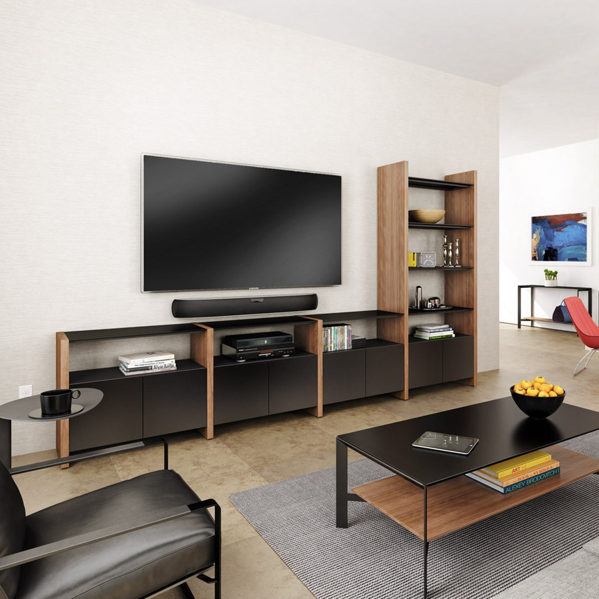 Semblance System in room setting
