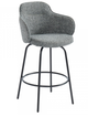 Colani Counter Stool - in Grey - set of 2