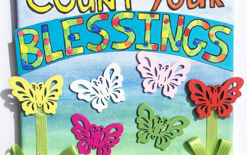 Count Your Blessings Canvas