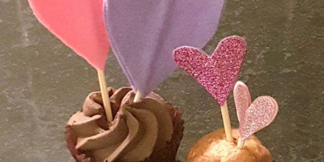 Loving Cupcake Decorations