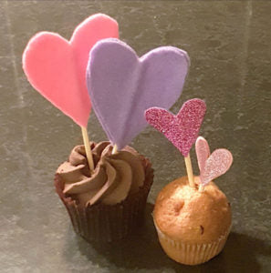 Loving Cupcake Decorations craft blog