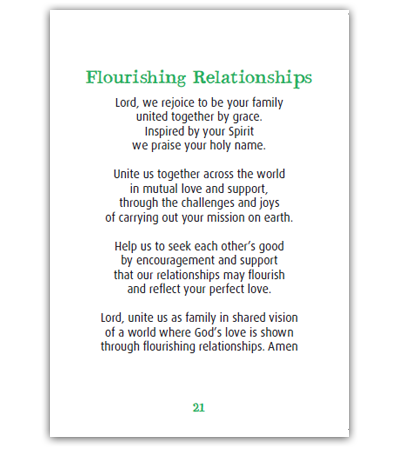 United In Fellowship Pocket Prayer Booklet