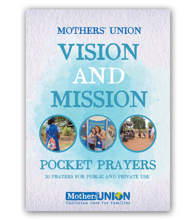 Vision And Mission Pocket Prayer Booklet Mothers' Union charity gift book