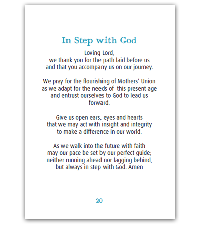 Vision And Mission Pocket Prayer Booklet