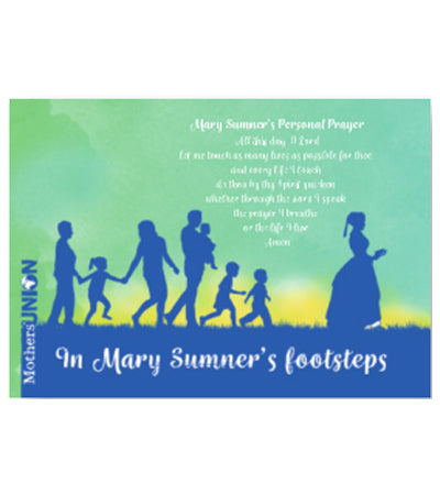In Mary Sumner's Footsteps Notecard