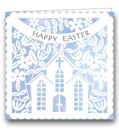 Church In Spring Mothers' Union charity Easter card
