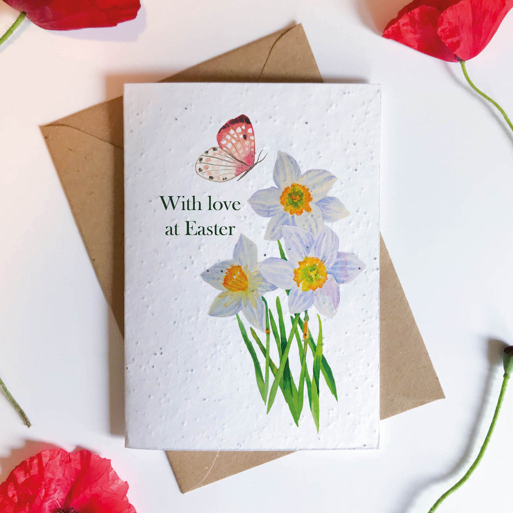 Easter Seeded Card