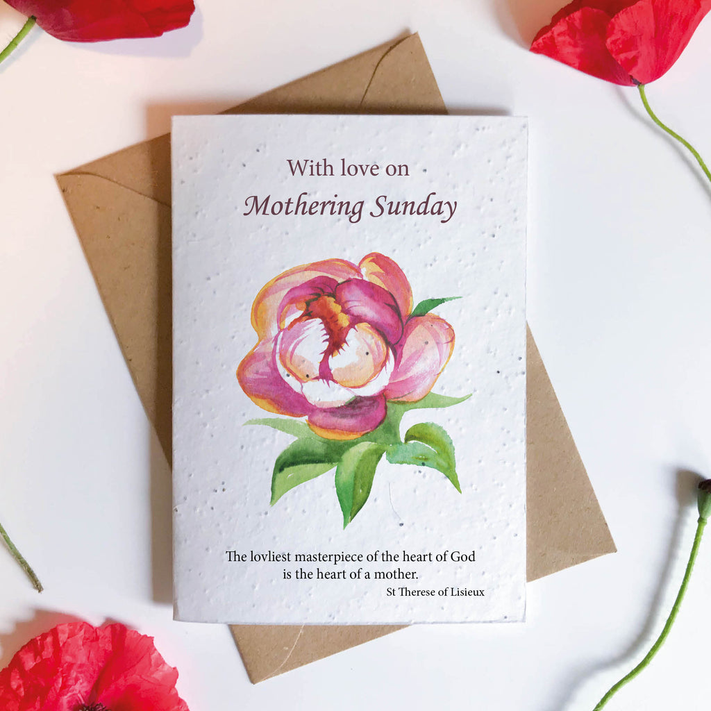 Mothering Sunday Seeded Card