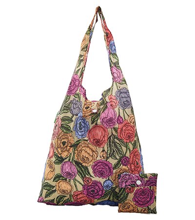 Rose Foldaway Shopper