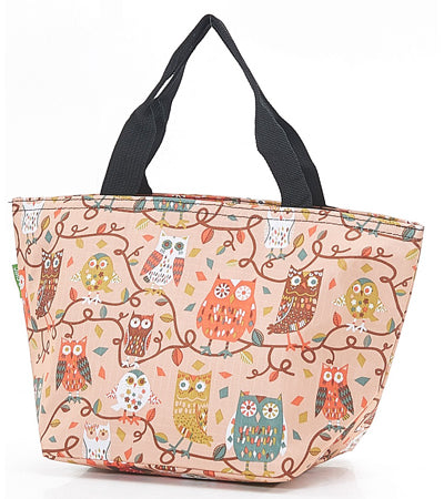 Owl Cool Bag - Rust