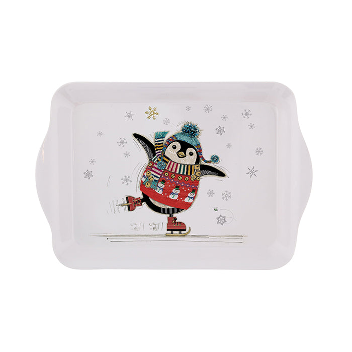 Penguin Skater Small Tray
