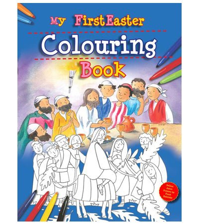 My First Easter Colouring Book