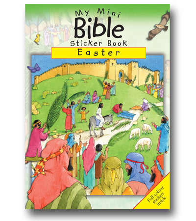 My Mini Bible Sticker Book