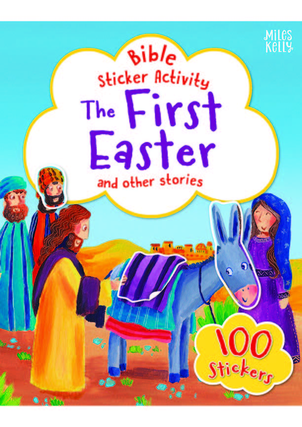 The First Easter Sticker activity book front cover.