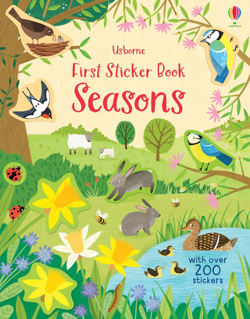 Usborne Sticker Book Seasons