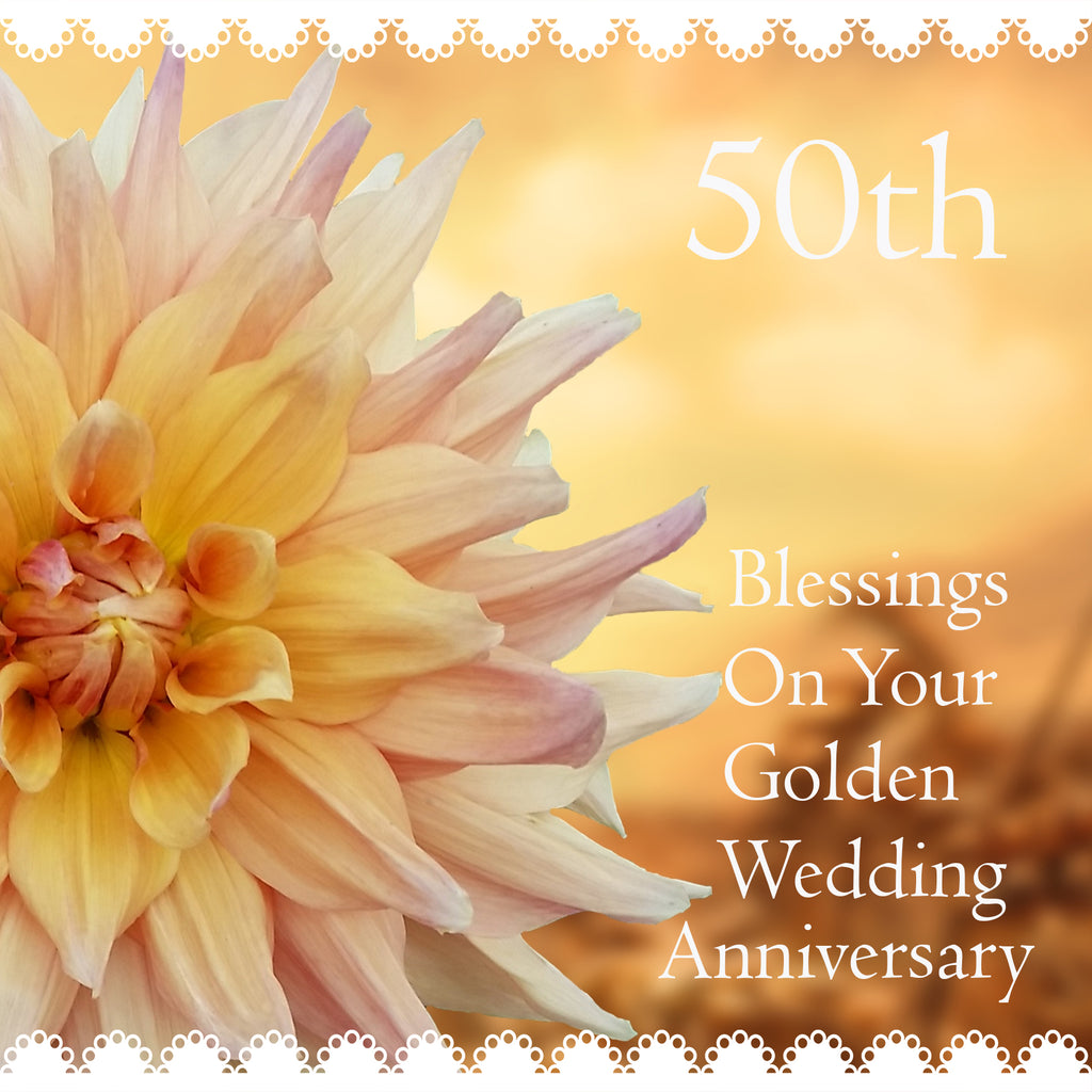 50th Anniversary Card