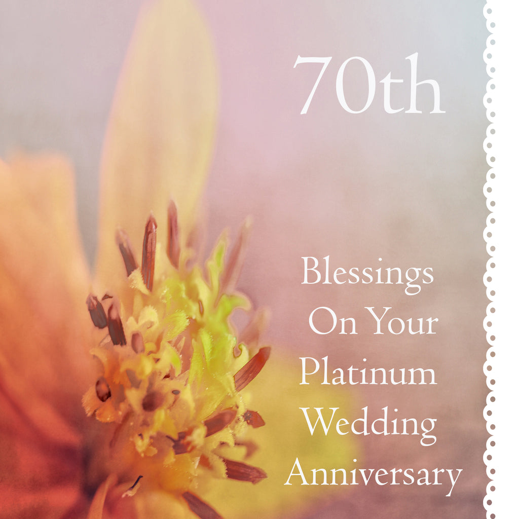 70th Anniversary Card