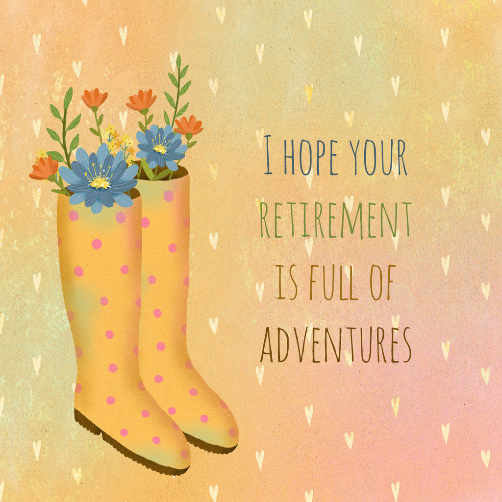 Retirement Wellies