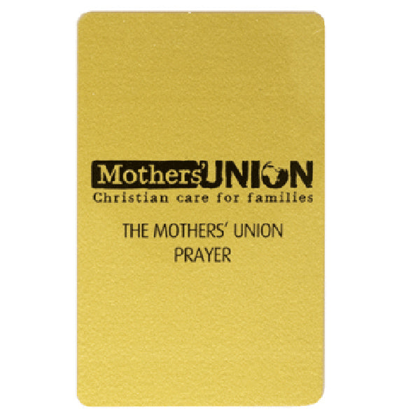 Mothers' Union Prayer card A0047