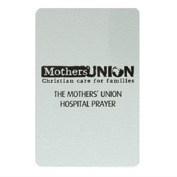 Mothers' Union Hospital Prayer card A0080