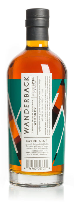 Batch No 3 American Single Malt Whiskey - @ Your Door