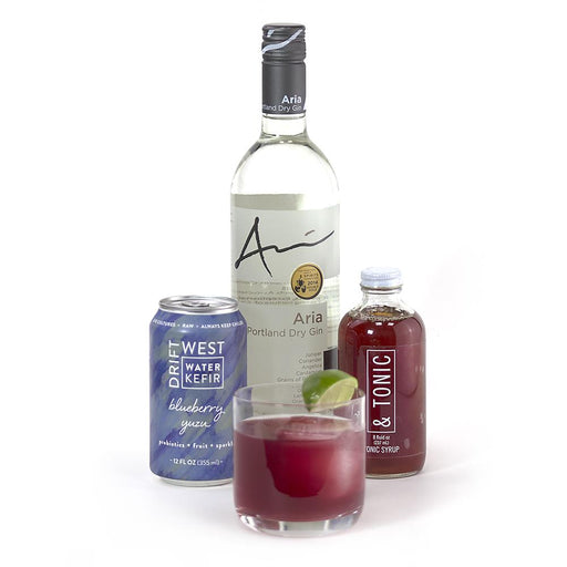 Blueberry Yuzu Gin and Tonic Kit - @ Your Door