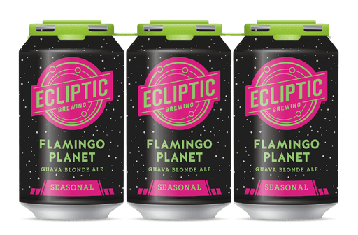 Flamingo Planet Guava Blonde Ale 6 Pack - @ Your Door