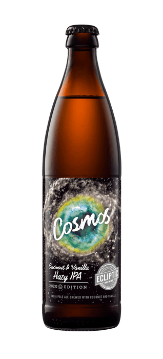 Cosmos Coconut & Vanilla Hazy IPA Bottle - @ Your Door
