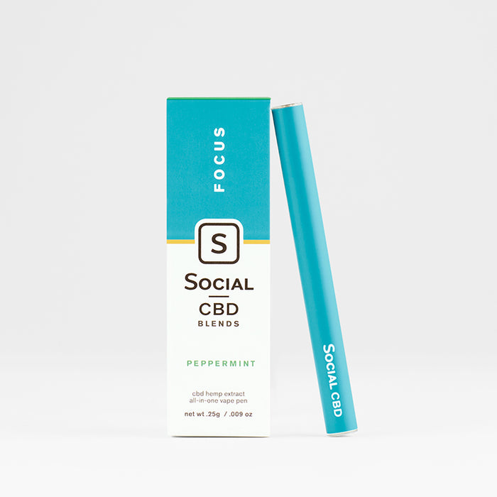 CBD Vape Pen Peppermint