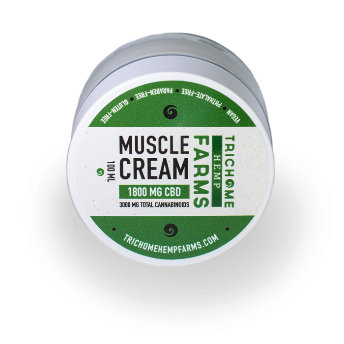 1800MG CBD MUSCLE CREAM