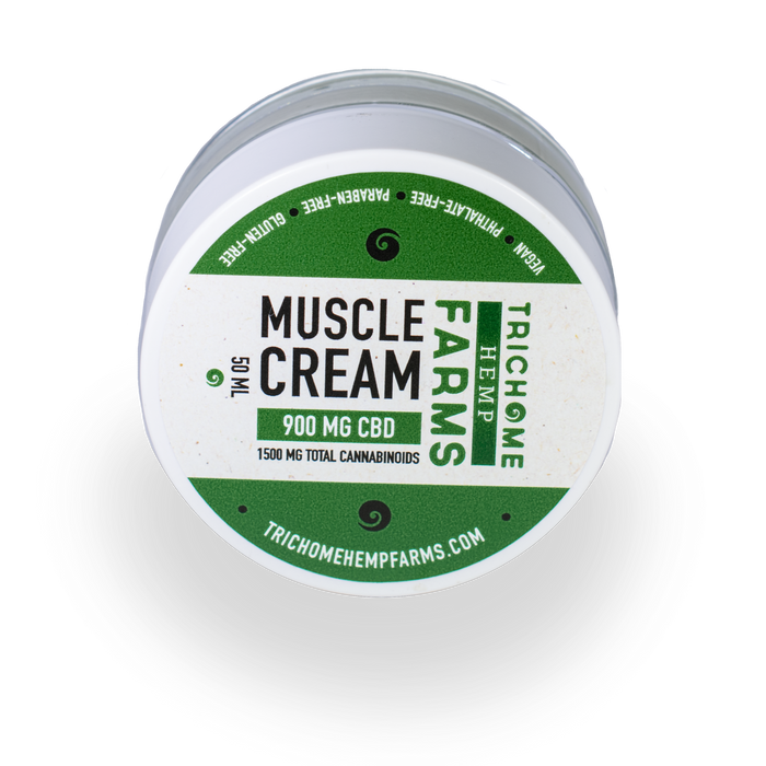 900MG CBD MUSCLE CREAM