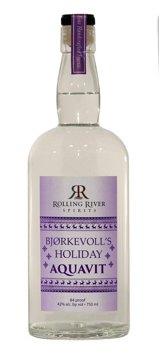 Bjørkevoll's Holiday Aquavit - @ Your Door