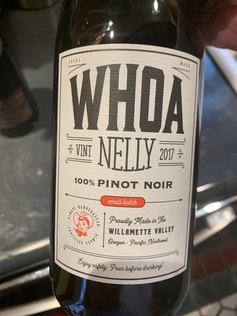 2017 Whoa Nelly Pinot Noir