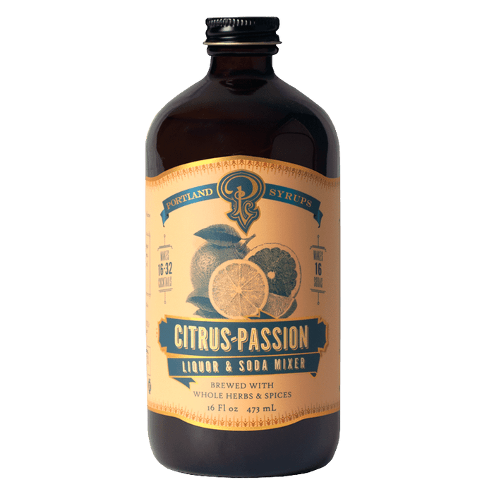 Citrus Passion Fruit Syrup - @ Your Door