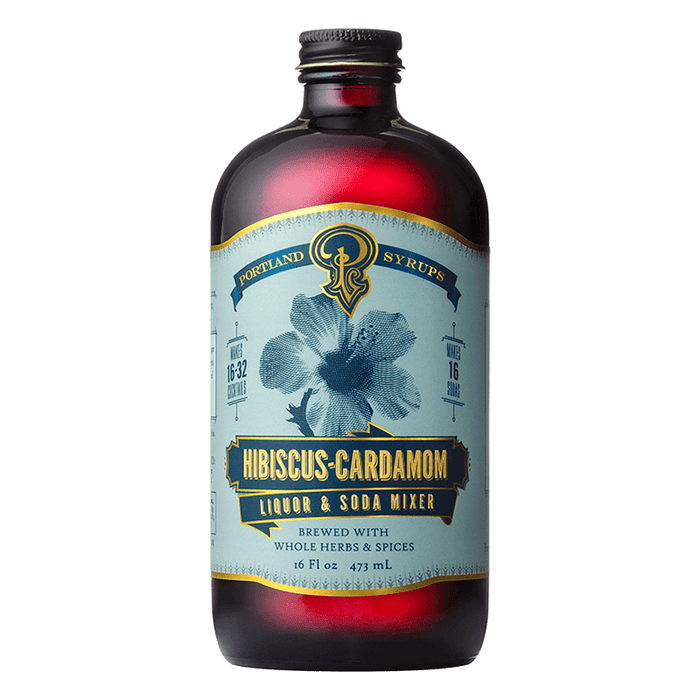 Hibiscus Cardamom Syrup - @ Your Door