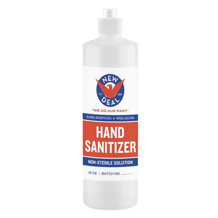 New Deal Hand Sanitizer - 16 oz