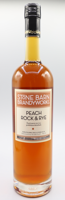 Peach Rock and Rye (750ml) - @ Your Door