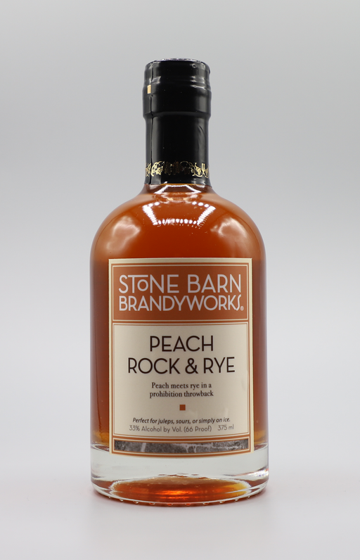 Peach Rock and Rye (375ml) - @ Your Door