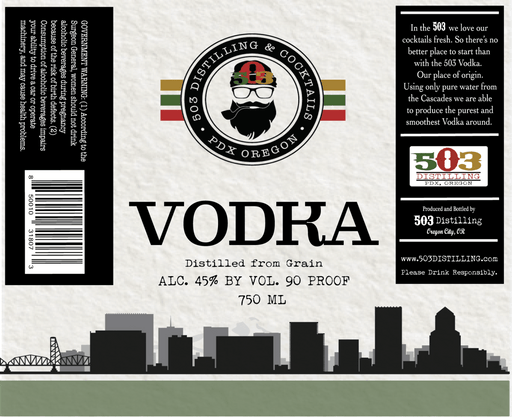 503 VODKA - @ Your Door