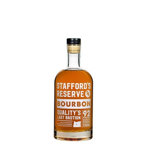 Stafford's Reserve Bourbon - @ Your Door