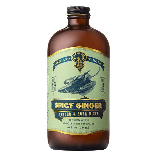 Spicy Ginger Syrup - @ Your Door