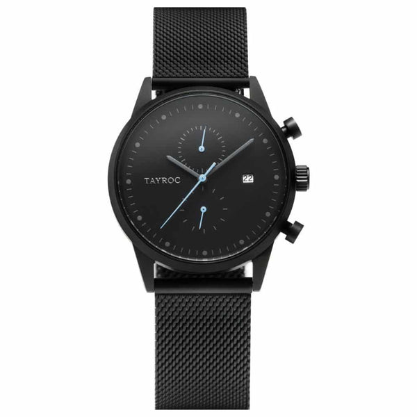 TAYROC BOUNDLESS BLACK HORLOGE TXM086