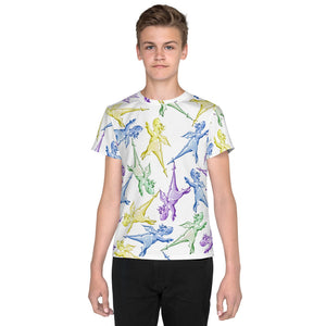 Unisex Magic Wanda The Dragon Pattern Tee